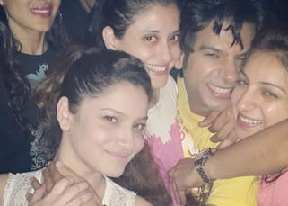 Karan Mehra's cute picture with Ankita Lokhande