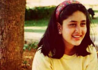 Kareena Kapoor during her teenager days