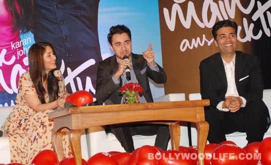 Kareena Kapoor, Imran Khan, Karan Johar launch 'Ek Main Aur Ekk Tu's' first look