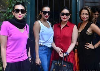 Kareena Kapoor Khan at lunch outing with Karishma Kapoor, Malaika Arora Khan and Amrita Arora