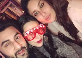 Kareena Kapoor Khan celebrated her New Year with sister Karisma Kapoor and brother Ranbir Kapoor