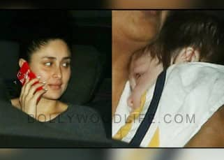 Kareena Kapoor Khan takes son Taimur out for a ride and we can't take our eyes off him - view pics