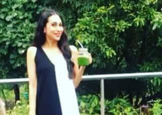 Karisma Kapoor enjoying the fresh aura of Atmantan resort in Pune