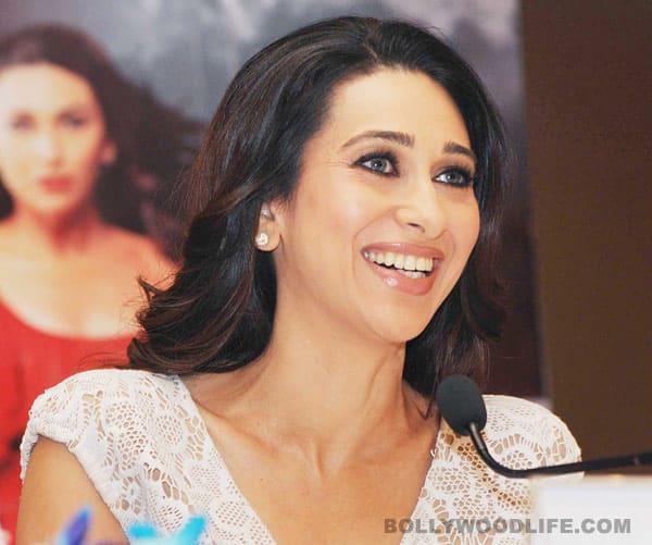 Karisma Kapoor, Rajniesh Duggal, Vikram Bhatt promote 'Dangerous Ishhq' in New Delhi
