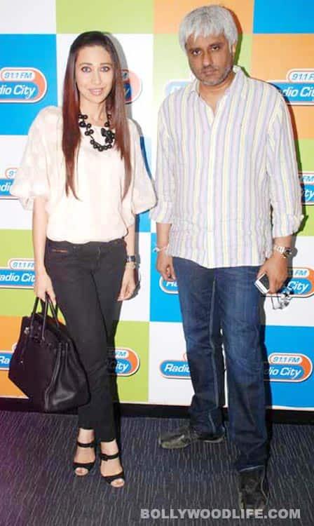 Karisma Kapur, Vikram Bhatt promote 'Dangerous Ishq'