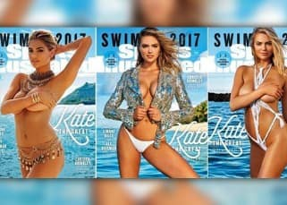 Kate Upton goes topless for Sports Illustrated Swimsuit Edition for third time – check out super hot pics