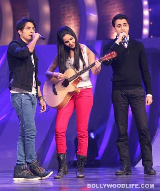 Katrina, Imran, Ali promote 'Mere Brother Ki Dulhan' on a dance reality show