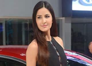 Katrina Kaif at the launch of Jaguar XE during Auto Expo 2016