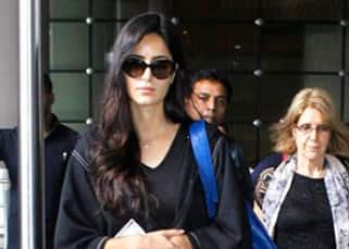 Katrina Kaif is back in Mumbai with mother Suzzane Turquotte from HOME!