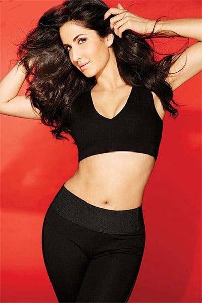 Katrina Kaif looks sizzling hot in all black