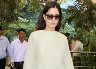 Katrina spotted at Mumbai airport
