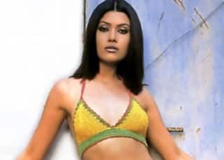 Koena Mitra geared up in swim wear for a shoot
