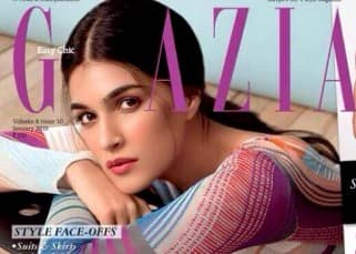 Kriti Sanon on cover of Grazia magazine
