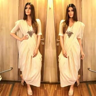 Kriti Sanon's chic styling during Bareilly Ki Barfi promotions will leave you floored – view pics