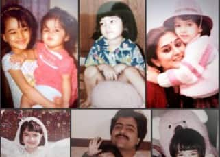 Kriti Sanon's childhood pictures
