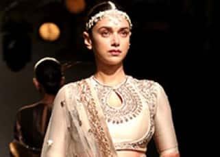 Lakme Fashion Week: Aditi Rao Hydari turns showstopper for Jayanti Reddy