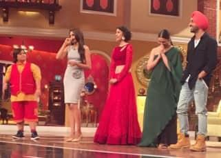 Lauren Gottlieb promoting 'Ambarsariya' movie at Comedy Nights Live