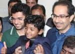 Lion star Sunny Pawar gets a royal welcome at the Thackeray residence
