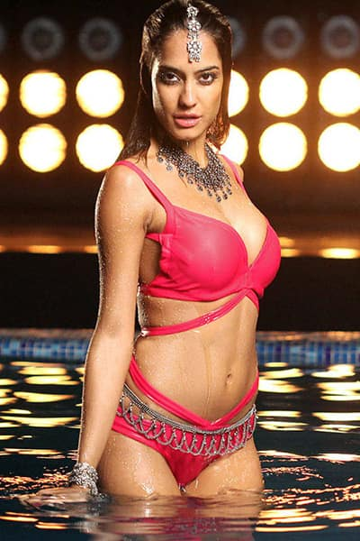 Lisa Haydon too opts for a pink bikini during her photoshoot