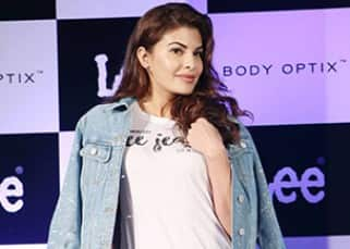 Lovely Jacqueline Fernandez rocks the denim look at a promotional event – view pics