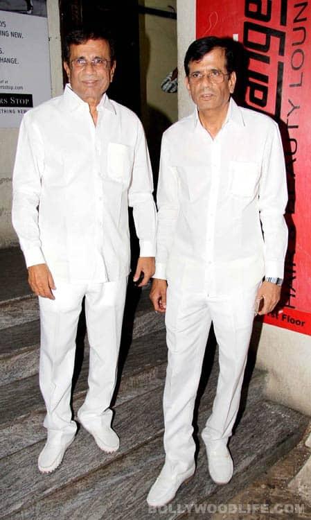 Madhuri Dixit and Juhi Chawla the premiere of Gulaab Gang!
