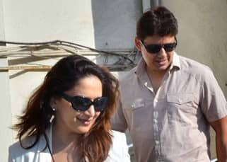 Madhuri Dixit's romantic movie date with husband Ram Nene, in pics!