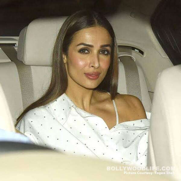 Malaika Arora Khan in an off-shoulder blouse looks hot AF