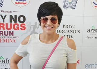 Mandira Bedi and Ali Afzal spotted at 'Say No To Drugs' marathon, see pics!