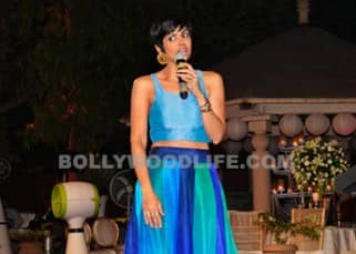 Mandira clicked during Khushii NGO charity auction event