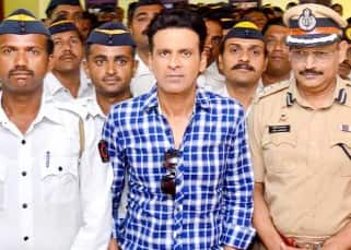 Manoj Bajpai promotes 'Traffic' at RTO office in Mumbai