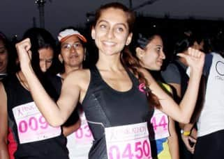 Milind Soman, Karisma Kapoor, Anusha Dandekar, Tara Sharma run for breast cancer awareness