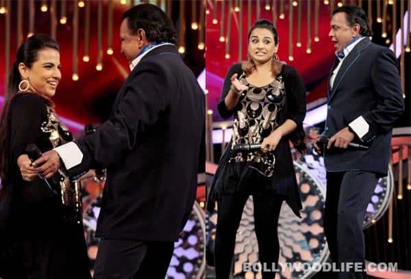 Mithun Chakraborty grooves with Vidya Balan on DID Super Moms