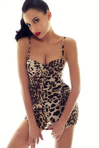 Sexy model dress
