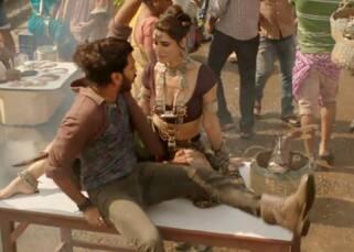 Nargis Fakhri dancing with Riteish Deshmukh in 'Banjo' still