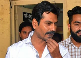 Nawazuddin Siddiqui snapped at Versova police station in Mumbai