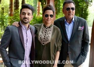 Neha Dhupia, Boman Irani and Vir Das are on a tour to promote 'Santa Banta Pvt Ltd'