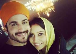 Newlyweds Dheeraj Dhoopar and Vinny Arora visit Golden Temple in Amritsar, share adorable pictures!