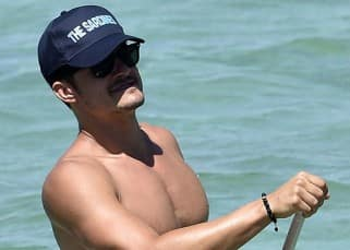 Nude Orlando Bloom clicked during Italy vacation