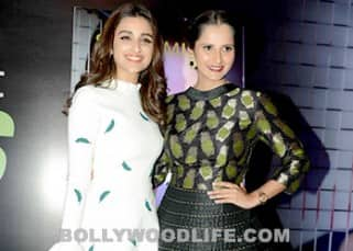 Parineeti Chopra launches Sania Mirza's book 'Ace against Odds', see pics!