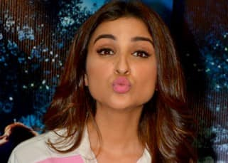 Parineeti Chopra pouts for a picture during 'The BFG' poster