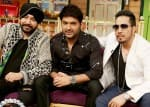 PICS: Daler Mehndi and Mika Singh get the party started on The Kapil Sharma Show