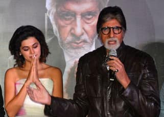 Pink trailer launch: Amitabh Bachchan's leather jacket and performance with Tapsee Pannu stole the event!