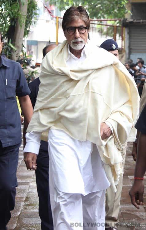 Pran funeral pics: Amitabh Bachchan, Shatrughan Sinha, Gulzar pay their last respects