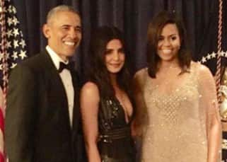 Priyanka Chopra clicked with Barack Obama and Michelle Obama