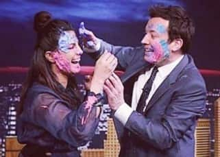 Priyanka Chopra makes Jimmy Fallon  celebrate Holi in true Indian style with 'thandai and colours'
