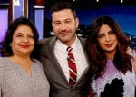 Priyanka Chopra shoots for Jimmy Kimmel Live after People's Choice Awards