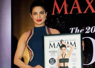 Priyanka Chopra stuns us with her BARE BACK outfit during Maxim cover launch event!