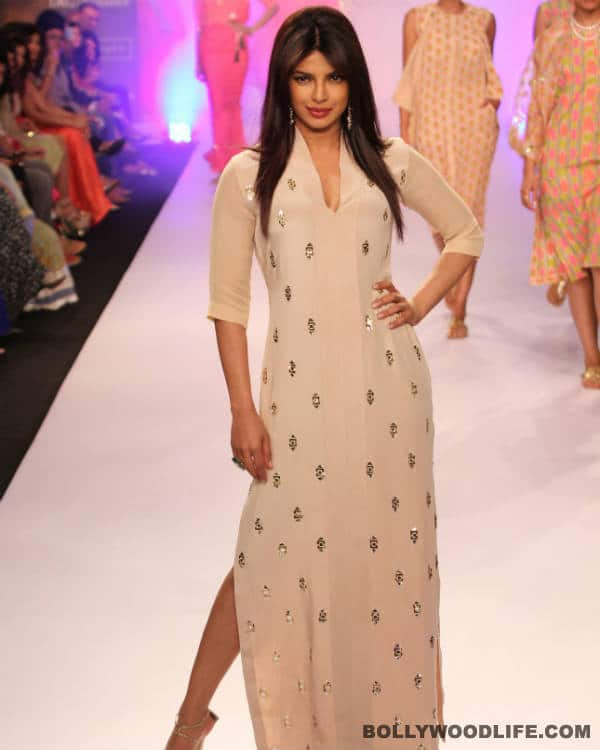 Priyanka Chopra walks the ramp for Neeta Lulla at LFW 2014 - View pics!