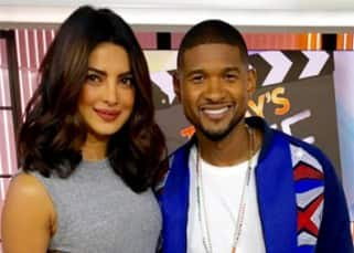 Priyanka Chopra was Usher's special guest at Snapchat's 'Today Show' !
