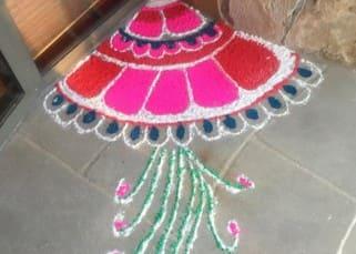 Priyanka Chopra's Diwali celebration pic